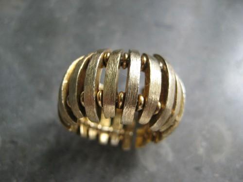 Anel prata dourada(nunca usado) 3