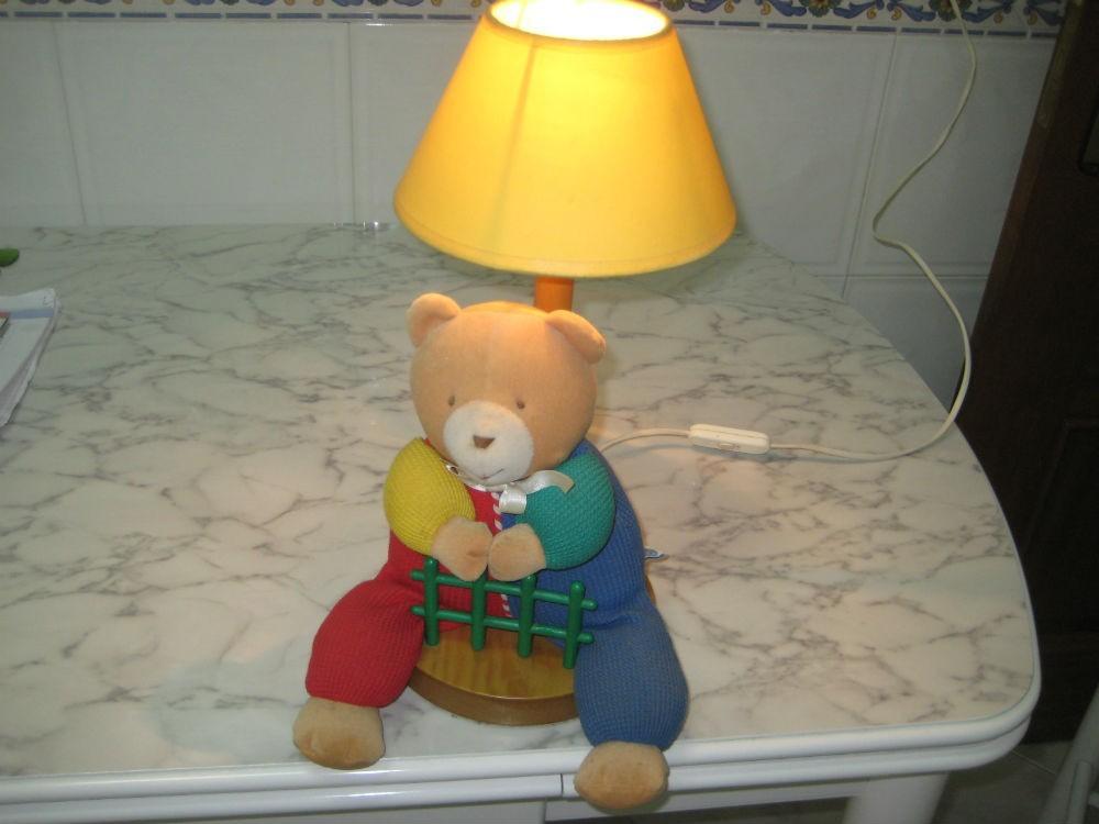 Candeeiro Quarto Bébé,linha urso Paddington,c/NOVO 4