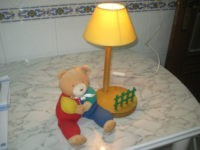 Candeeiro Quarto Bébé,linha urso Paddington,c/NOVO 2