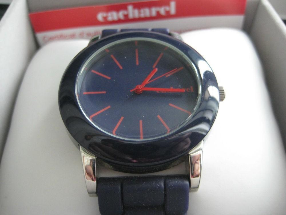 Relógio original Cacharel,azul,n/embalagem(NOVO) 3
