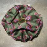 Alfinete/Pregadeira seda verde(NOVA) 3