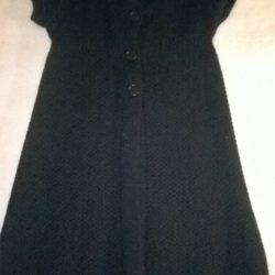 casaco s/mangas com botões 2