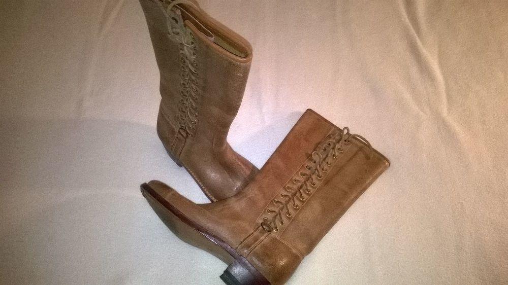 botas de pele cano alto 1