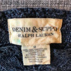 Ralph Lauren, top de malha azul marinho 3