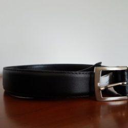Novo! Cinto Preto em Pele de 110 cm (Equiv 22,95€ Zara) 1
