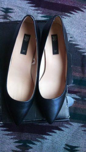 dfdba11d8 Sapatos salto pele Mango barato e Usado uma vez em Caldas da Rainha
