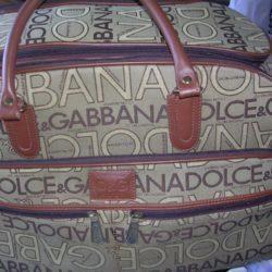 mala bagagem para viajar original doce&gabana 5