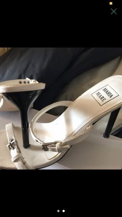 Sandálias Brancas Maria Mare 1