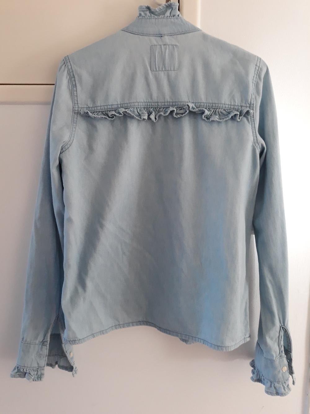 Blusa azul/denim look 3