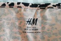 Vestido H&M Tamanho S - leopardo 1