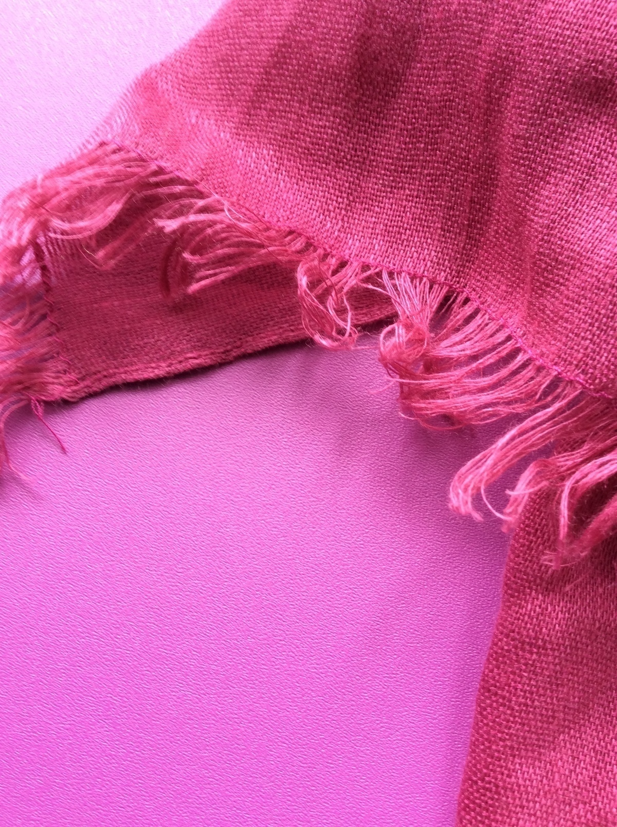 """Lenço """"pink is the color of my obsession"""" 1"""