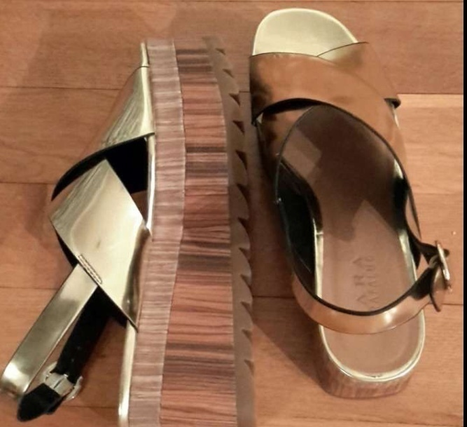 Sandálias Zara 2
