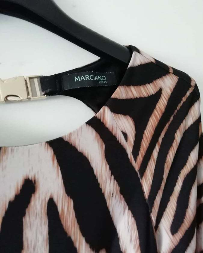 Vestido padrão tigresa - Guess 1