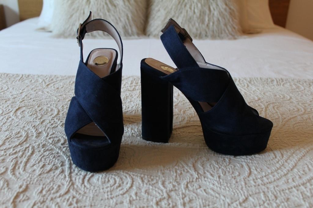 Sandálias azuis Manuel Alves - tamanho 35 2