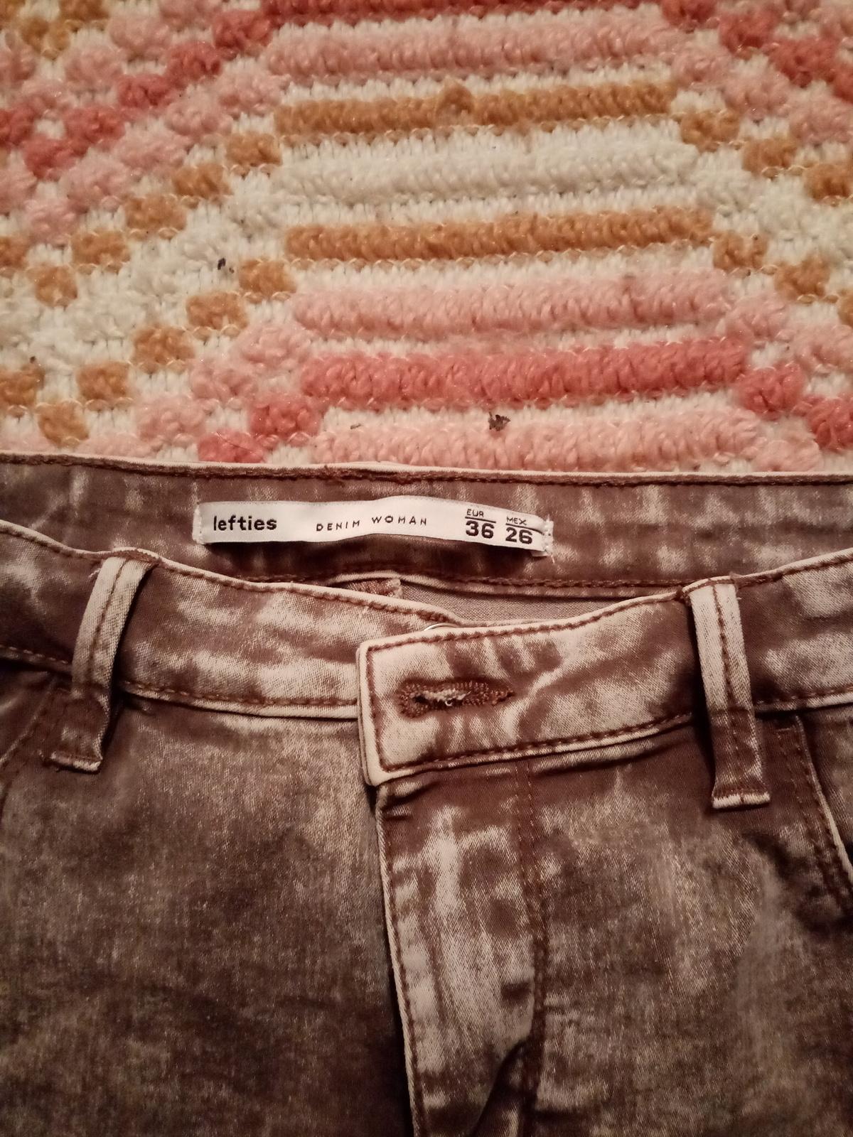 Calças cinta subida lefties 1