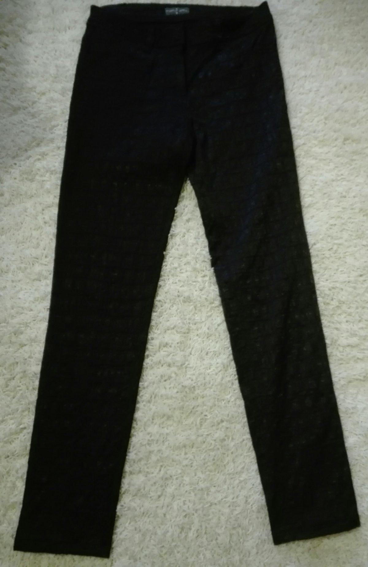 Calças pretas elegantes 6