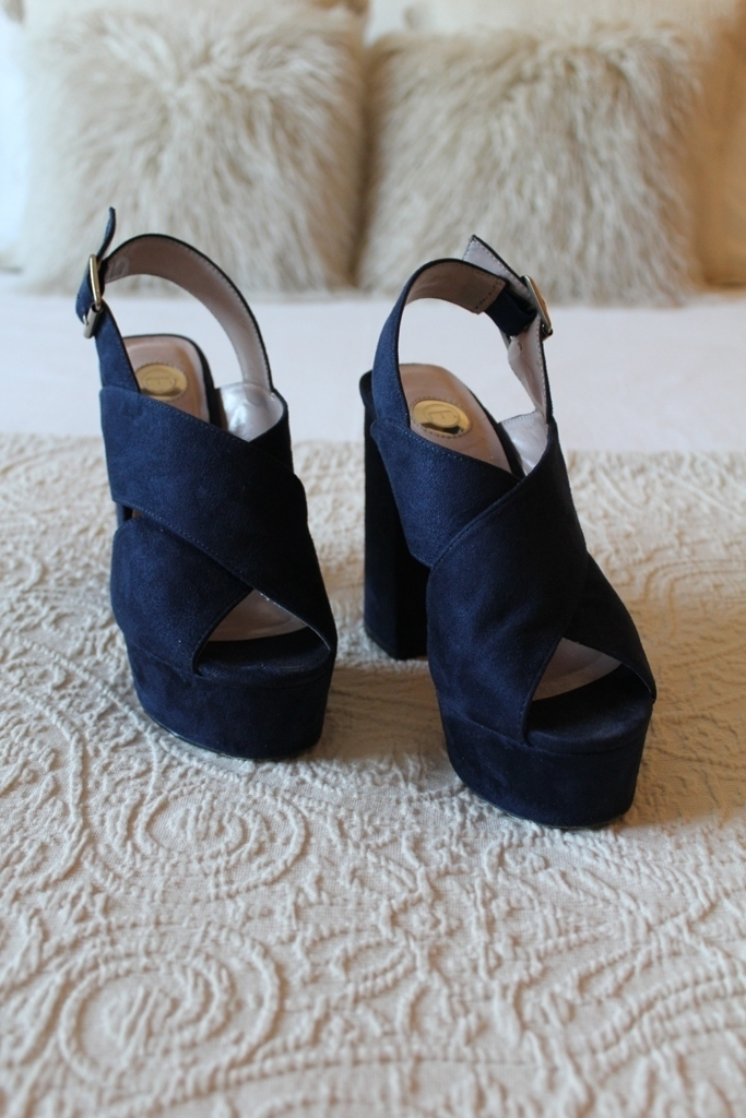 Sandálias azuis Manuel Alves - tamanho 35 3