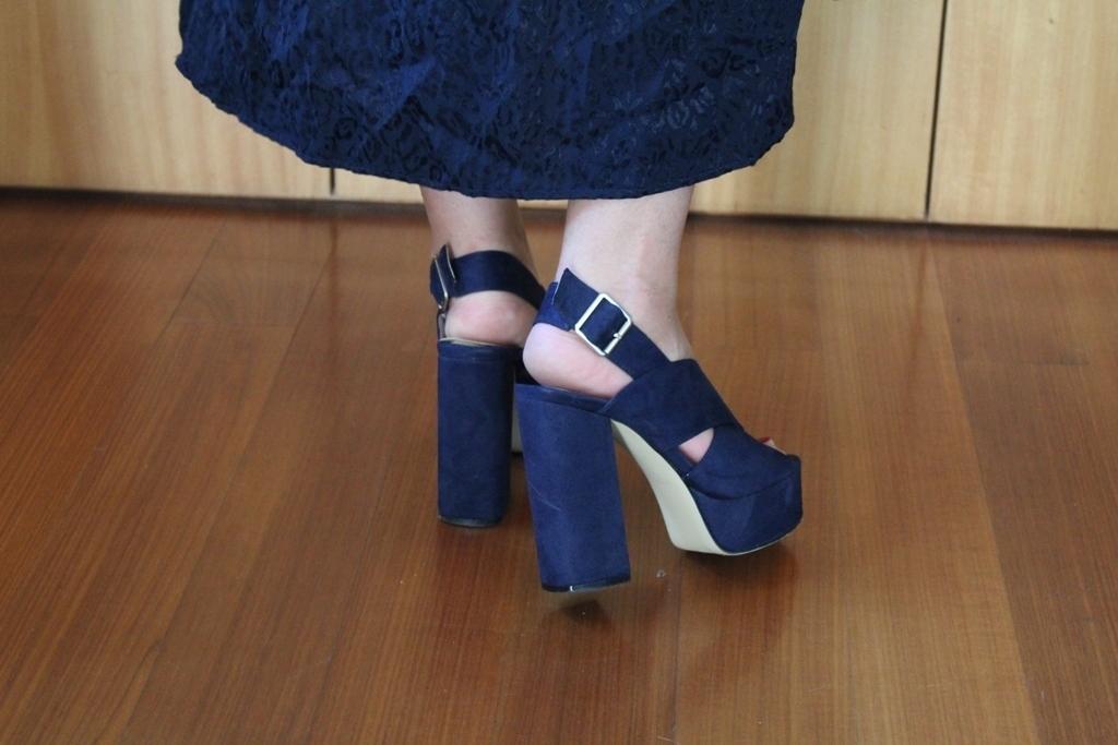Sandálias azuis Manuel Alves - tamanho 35 4