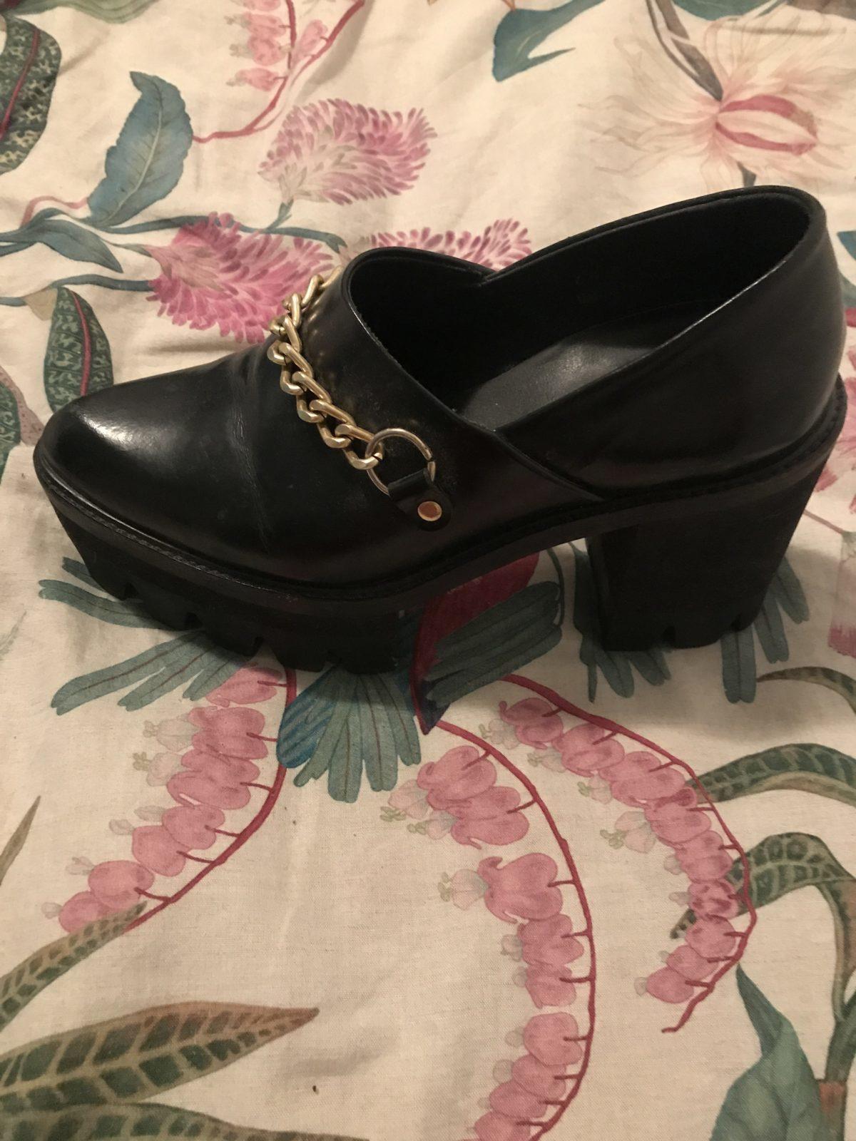 Sapatos de plataforma 1