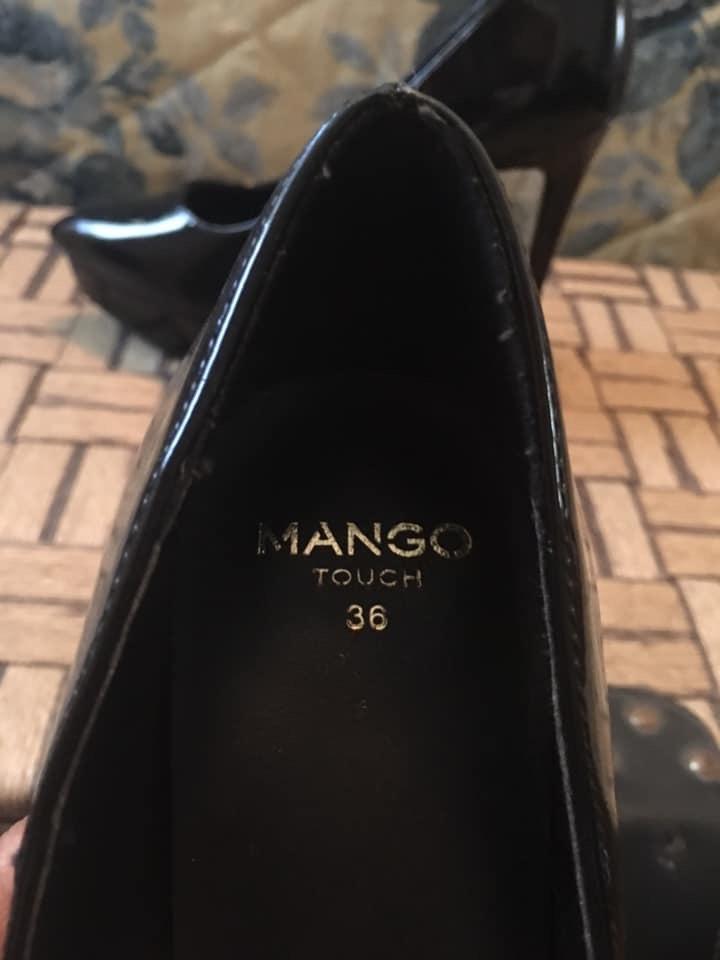 Sapatos verniz Mango 3