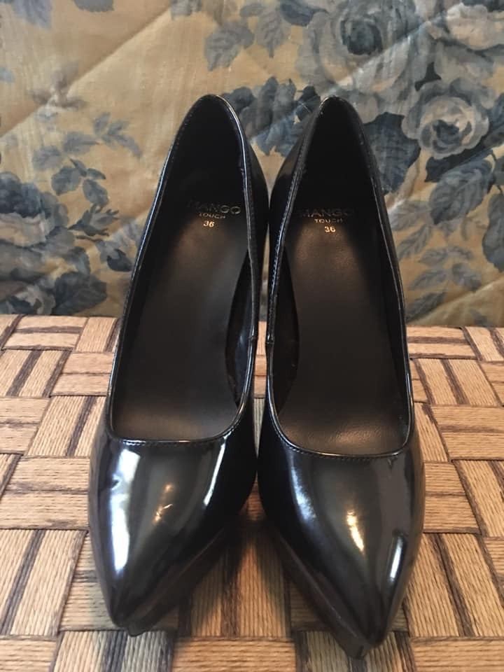 Sapatos verniz Mango 4