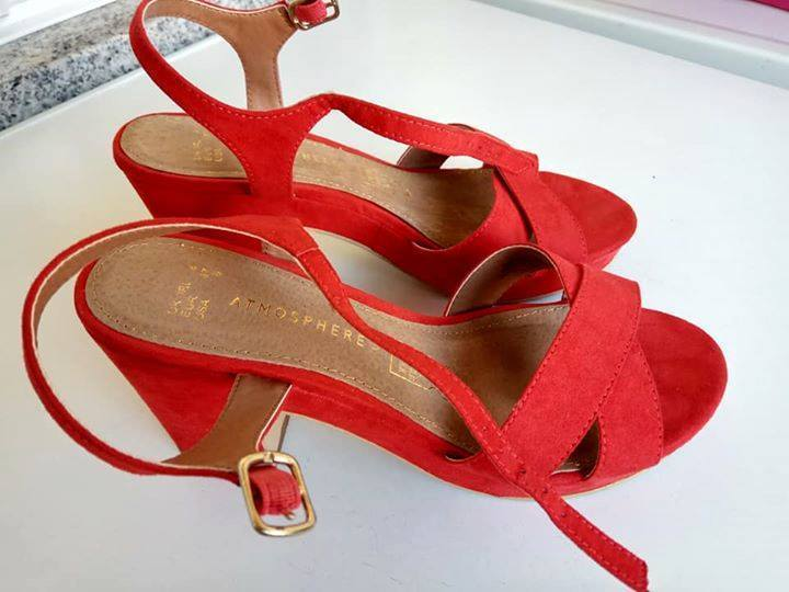 sandálias vermelhas 1