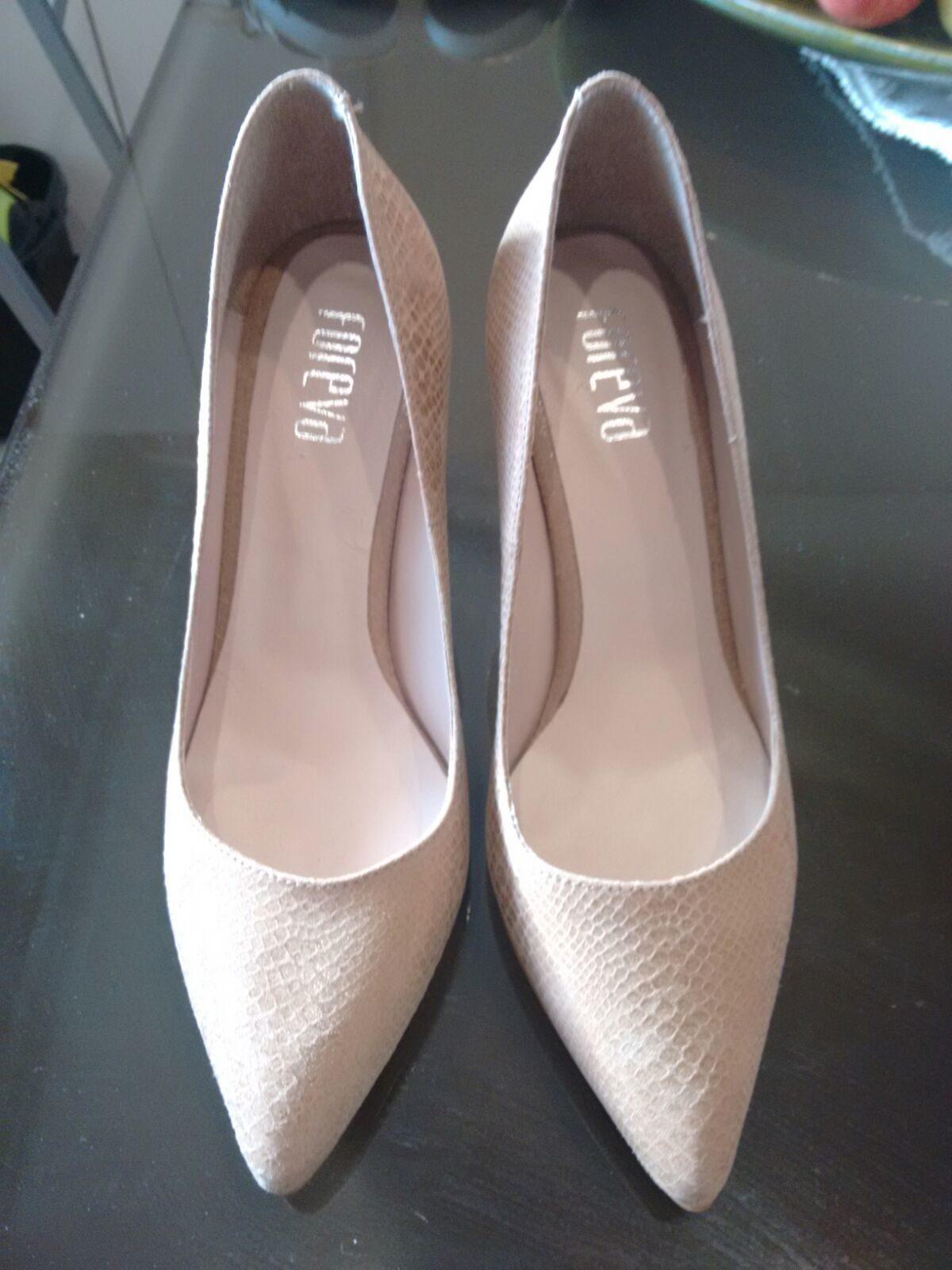 Sapatos de Salto Alto Marca Foreva 3