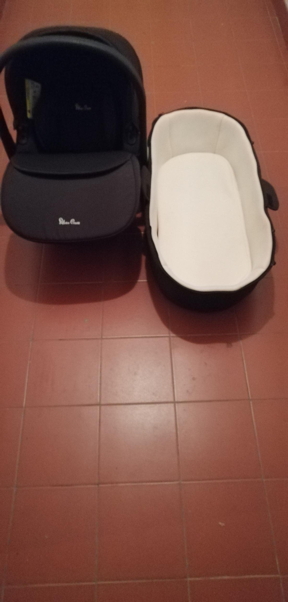 Cadeira carro + alcofa 2