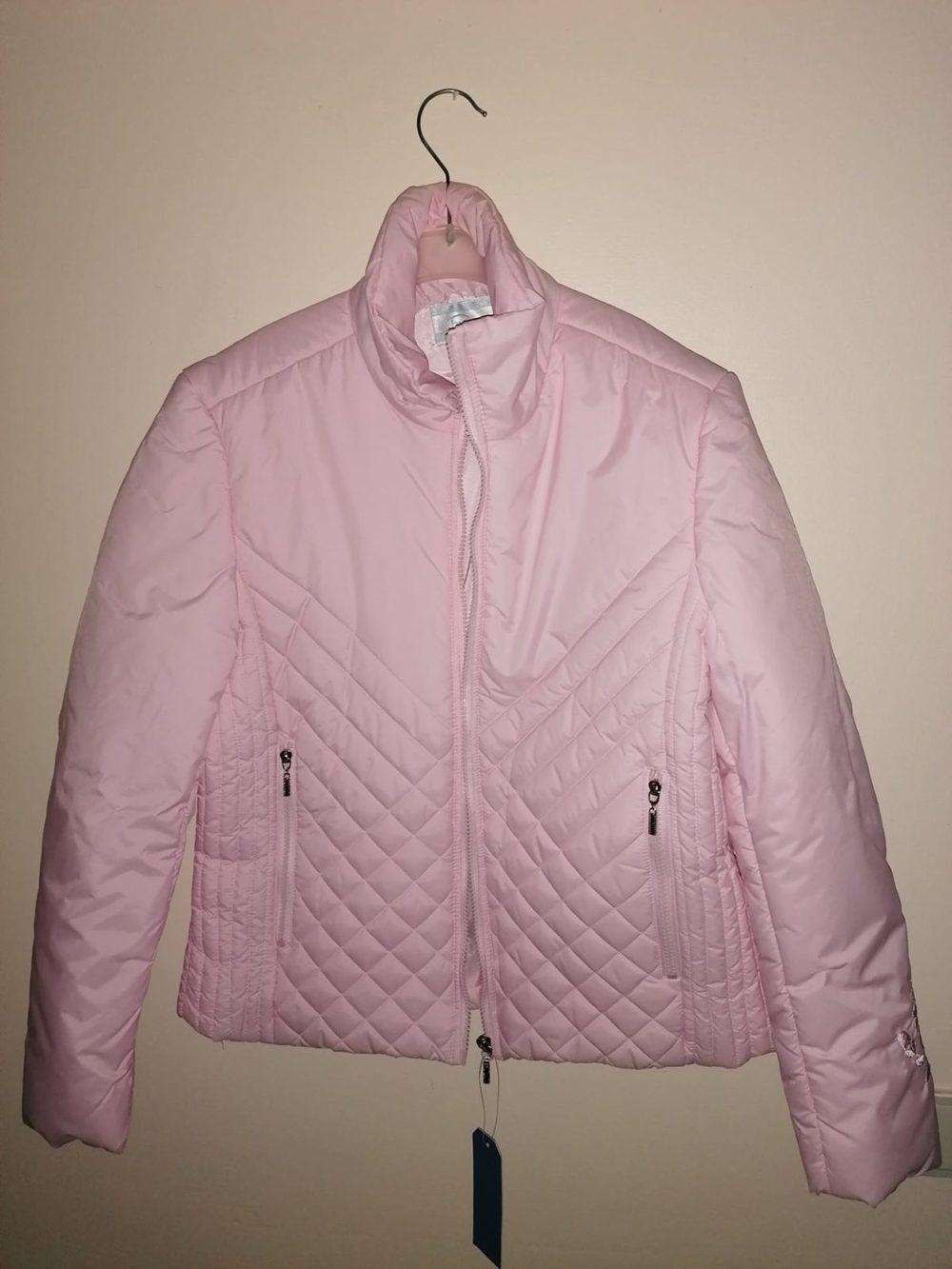 Vende-se Casaco rosa NOVO 1