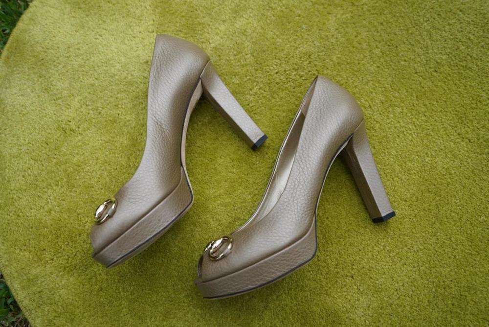 Sapato Gucci Salto Alto 3