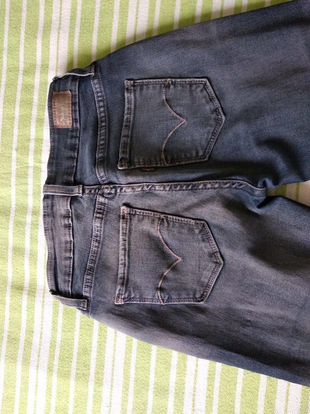 Calças de Ganga Levis estilo Leggings 2