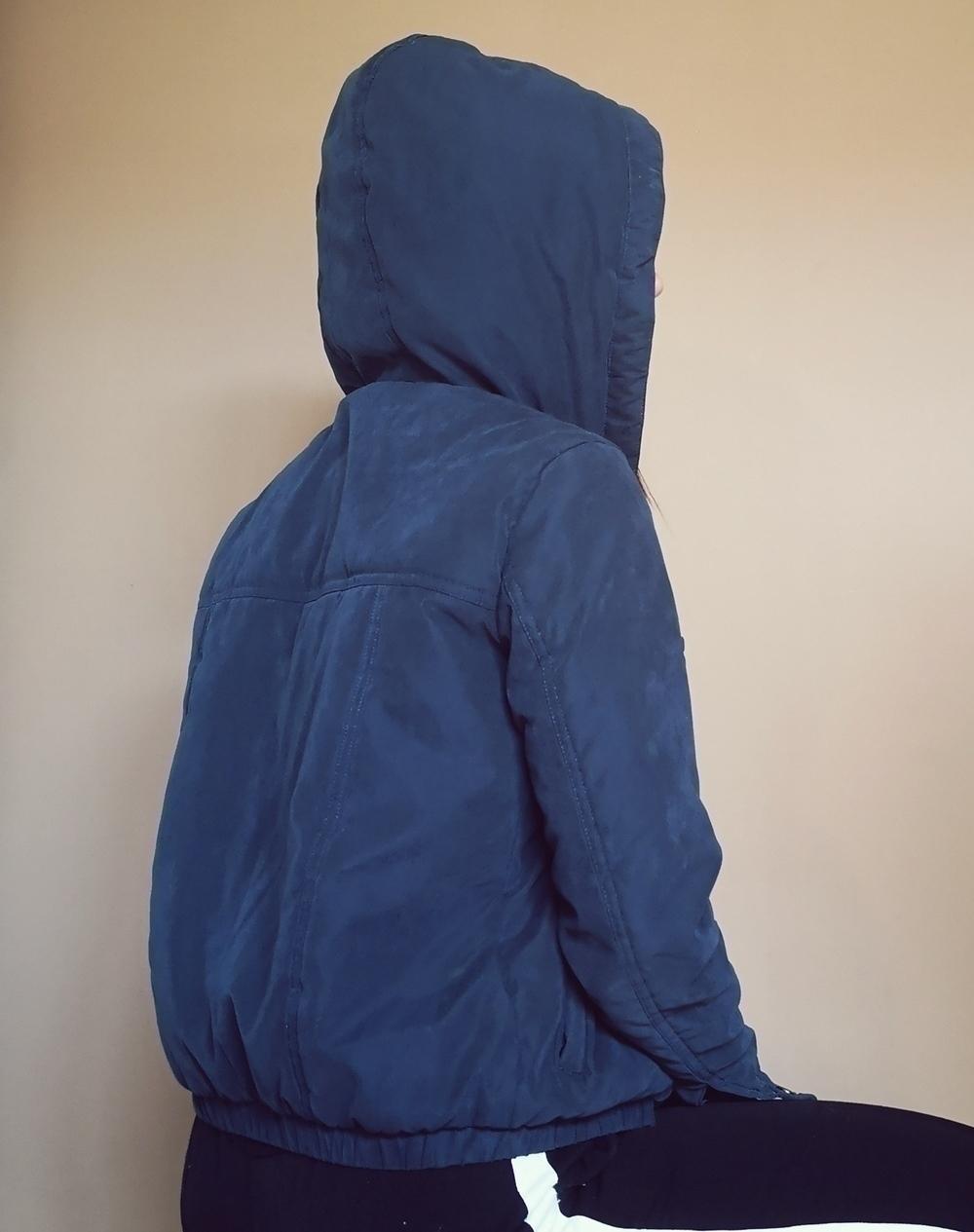 Casaco de inverno (azul escuro) 2